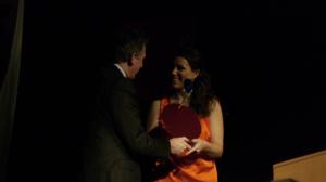 Marie erhält den Helene-Hecht-Preis