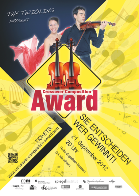 Plakat Crossover Composition Award 2012